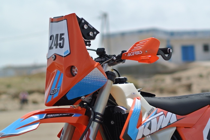 Moto kit Rally RSCONCEPT EVO6 KTM